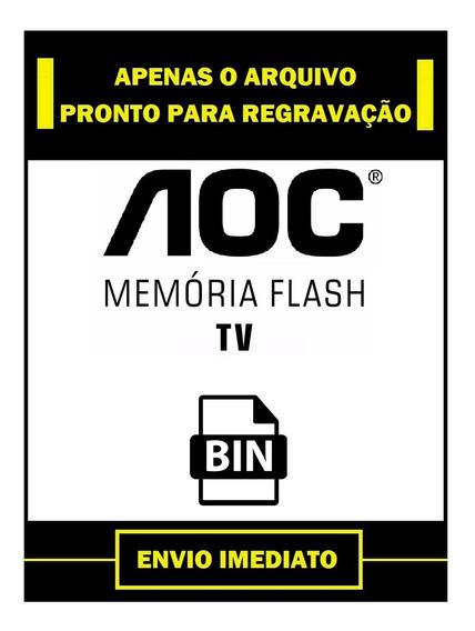 Arquivo Dados Flash E Eprom Tv Aoc Le32h057d