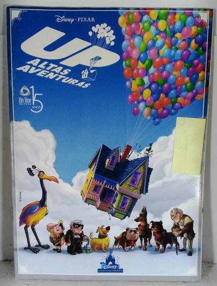 Hq Disney Pixar Up Altas Aventuras Filmes Quadrinhos Gibi