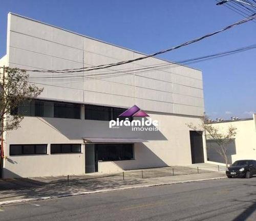 Galpão Para Alugar, 2046 M² Por R$ 25.000,00/mês - Jardim Califórnia - Jacareí/sp - Ga0036