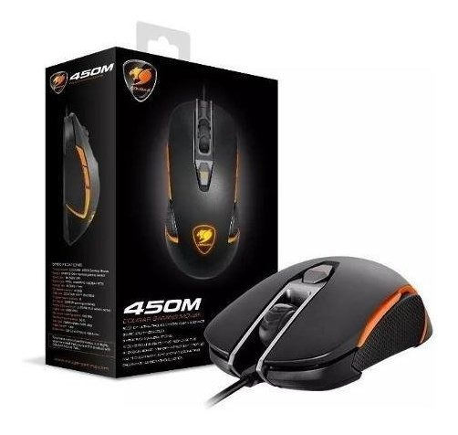 Mouse Cougar Gaming 450m Usb Optical 50-5000 Dpi Iron Grey.