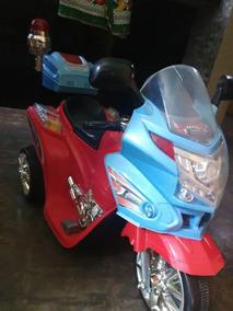 Moto Eléctrica De Batería Recargable Para Niño
