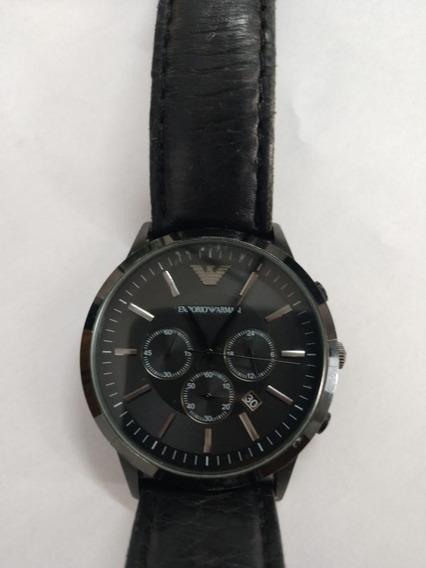 Relógio Emporio Armani Sportivo Ar2461 Couro