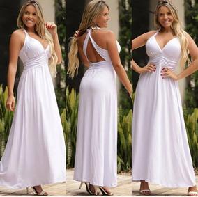 4870c316fa6d Vestido Branco Reveillon Evangelicos - Vestidos Femeninos com o ...