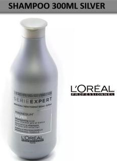 Shampo Loreal Silver 300 Ml Cabellos Blancos Y Rubios Origin