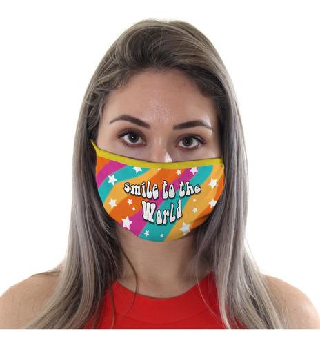Mascara De Protecao Smile To The World Adulto