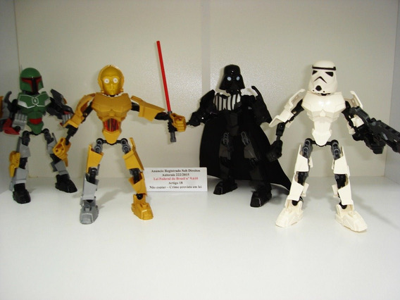 Star Wars Darth Vader C3po Stormtrooper E Bounty Hunter