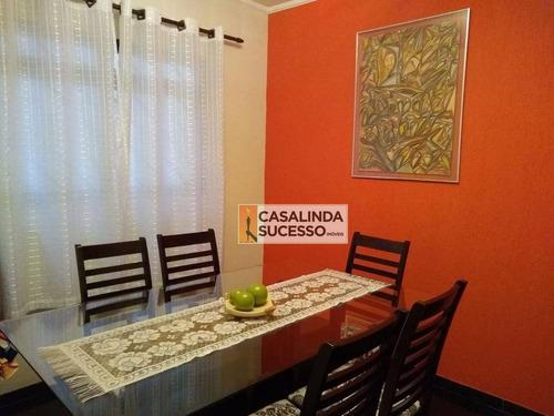 Sobrado À Venda, 180 M² Por R$ 585.000,00 - Vila Nhocune - São Paulo/sp - So0837