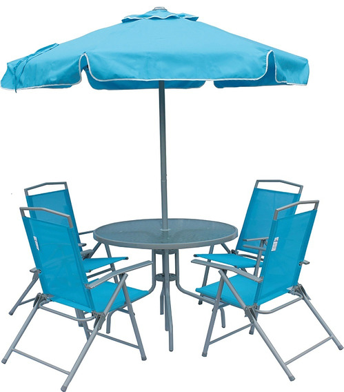 Conjunto De Jardim Miami Azul - Belfix