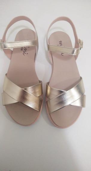 Sandália Dourada Meninas