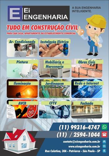 Imagem 1 de 7 de Eng Civil, Gestão Em Reformas E Obras, Avcb, Spda, Art