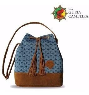 Bolsa Saco Gaucha Azul Campeira