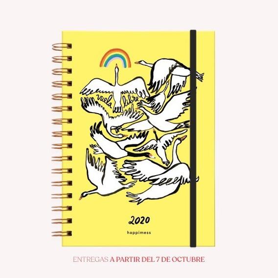 Agenda 2020 A5 Happimess Vuela Libre - Monoblock