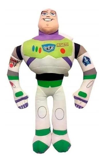 Boneco Pelúcia Buzz Lightyear Toy Story C/ Som 30cm Multikid