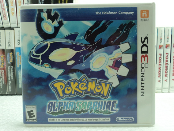Pokemon Alpha Sapphire - Nintendo 3ds - 12x S/ Juros + Frete