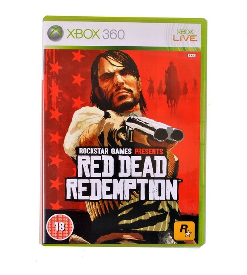 Red Dead Redemption Xbox 360 Mídia Física Usado