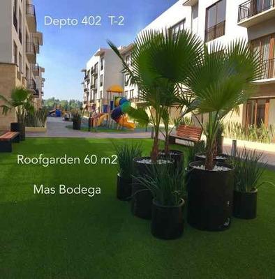 Av. Toluca, Depto. Con Roof Garden A 5 Min Del Periférico Y 5 De Supervía P.