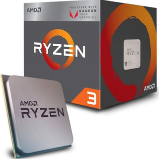 Micro Procesador Amd Ryzen 3 2200g 3.7ghz Am4 Vega 8 Hi End