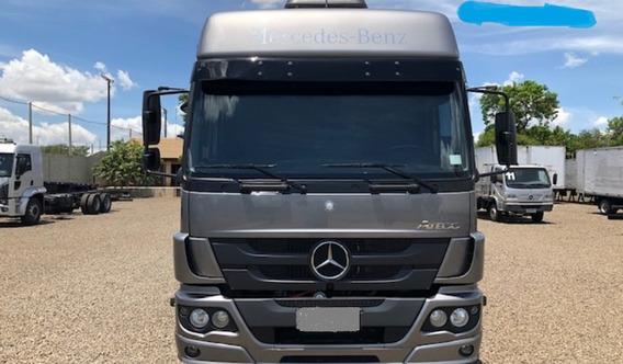 Mercedes Benz 2430 2017/18 Na Carroceria Entrada + Parcelas