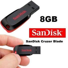 Pen Drive 8gb Sandisk Original Lacrado Cruzer Blade