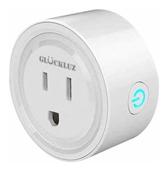 Enchufe Inteligente Wifi Smart Plug Socket Glückluz Alexa X1