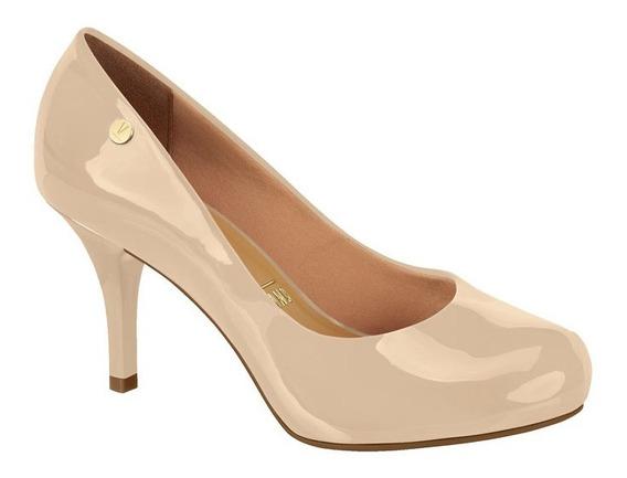 Sapato Feminino Scarpin Vizzano Salto Meia Pata Embutida