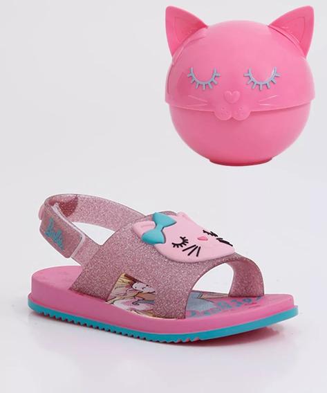 Sandália Infantil Barbie Fashion Cat Grendene Kids