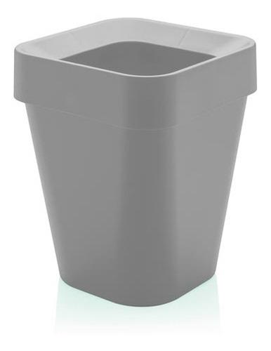 Cesto De Lixo Izzy Aro Em Polipropileno 10 L Capacidade - Ou