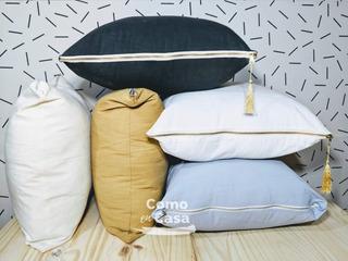 Almohadon De Tussor Diseño Moderno Decorativo