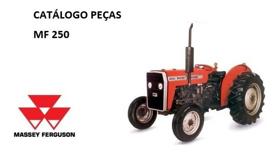 Catálogo Peças Trator Massey Ferguson Mf 250