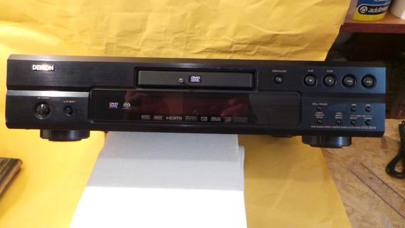 Denon Dvd 2910 Audio Vídeo Cd Player Dvd P/ Retirar De Peças