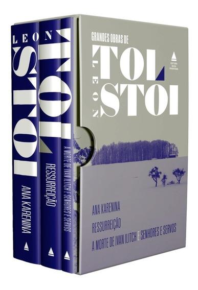 Box Grandes Obras Leon Tolstói Ana Karenina + 2 Frete Grátis
