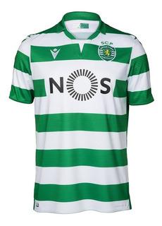 Camisa Do Sporting Lisboa Portugal Oficial - Super Oferta