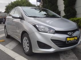 Hyundai Hb20 1.0 Comfort Flex 2015 Prata Completo