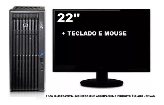 Workstation Hp Z800 2 Xeon Six Core 32gb 240gb Ssd + 2tb