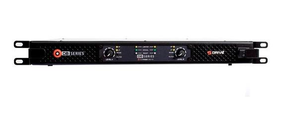 Amplificador Db Series Sdrive 1400w Rms Slim Bivolt Nfe