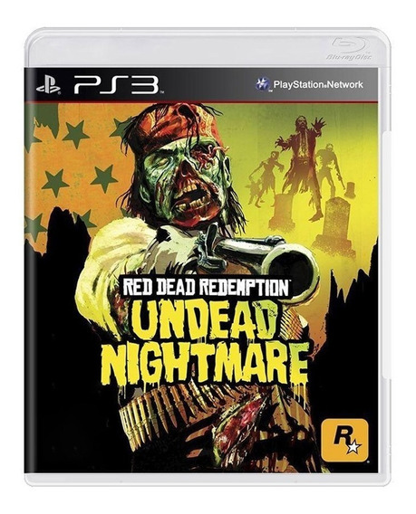 Red Dead Redemption Undead Nightmare - Ps3 Original - Usado