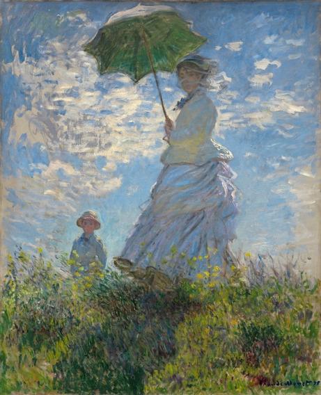 Cartaz Foto Hd 65x85cm Claude Monet - Enfeite Para Sala