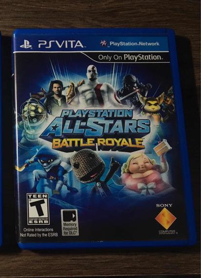 Playstation All-stars: Battle Royale Para Psvita