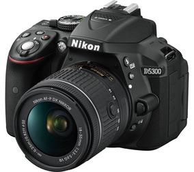 Câmera Nikon D5300 Af-p 18-55mm Pronta Entrega 12x Sem Juros