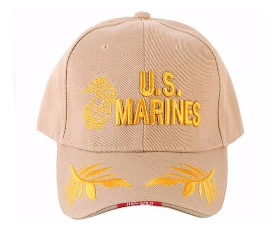 Gorra Militar Us Marines Beige
