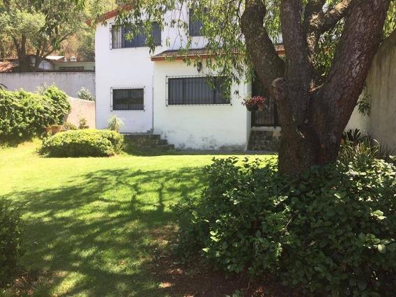 Casa En Renta Avenida Hombres Ilustres, Santa Cecilia Tepetlapa