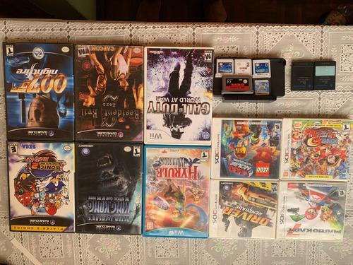 Solo Cambio De Juegos Nintendo 3ds Y Todas Las Consolas Gxa