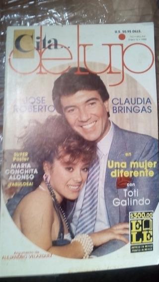 Claudia Bringas Y Jose Roberto En Fotonovela Cita De Lujo