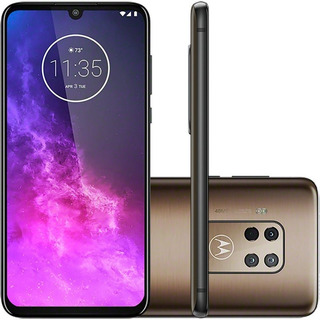 Celular Motorola One Zoom 128gb Tela Oled 6,4 Quad Camera Du