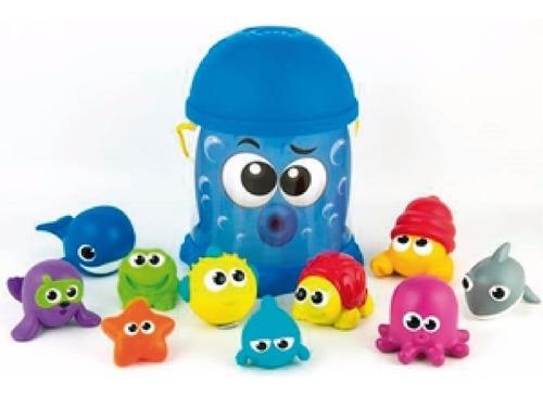 Imagen 1 de 5 de Balde Win Fun 7115 C/juguetes P/baño