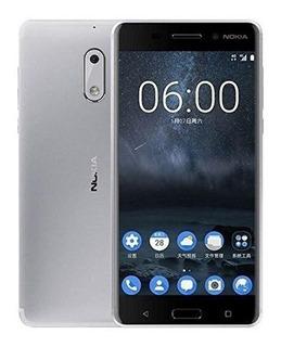 Nokia 6 Ta-1003 64gb Silver, Dual Sim, 5.5, Gsm Modelo Desbl