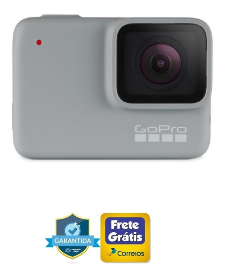 Action Cam Gopro Hero 7 White 1080p Acessorios Completos