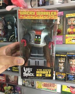Funko Wacky Wobbler Robot B9 Lost In Space Con Sonido