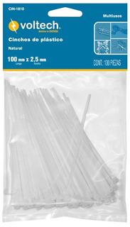 Amarres Plasticos 15 Cm Tension 18 Lb Truper X 5 Unidades