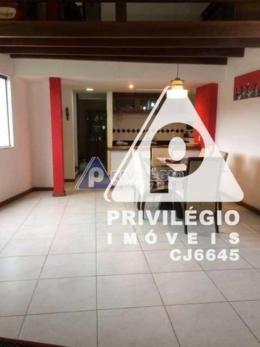 Casa De Rua À Venda, 2 Quartos, 2 Vagas, Laranjeiras - Rio De Janeiro/rj - 24486